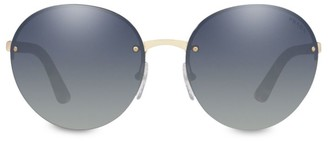 Prada 61MM Round Sunglasses