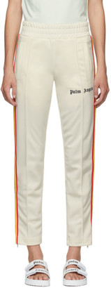 Palm Angels Off-White Rainbow Classic Track Pants