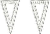 Anna Beck Triangle Post Earrings