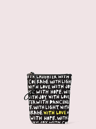 Kate Spade Cleo Wade X Phrases Pouch