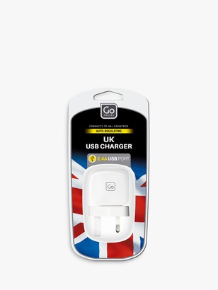 Go Travel USB to UK Travel Adaptor