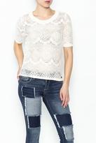 Nümph Lace Sweater Shirt