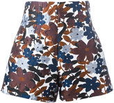 Michael Kors floral print shorts - women - Silk/Polyamide/Polyester/Rayon - 4