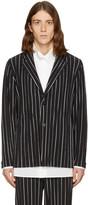 Homme Plissé Issey Miyake Black Striped Blazer