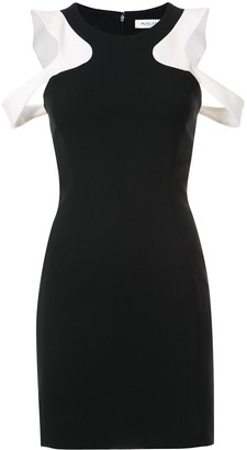 Thierry Mugler Shoulder Cut Out Dress