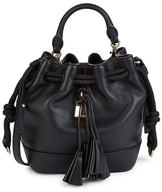 Marc Jacobs Drawstring Leather Bucket Bag