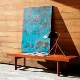 west elm Framed Print - Turquoise Patina