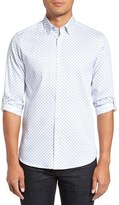 Ted Baker Men's 'Timbrook' Trim Fit Medallion Print Sport Shirt