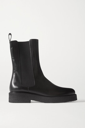 STAUD Palamino Leather Chelsea Boots - Black