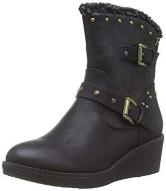 Refresh Women's 69198 Ankle Boots, Black Negro