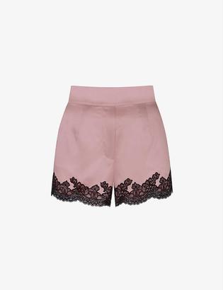 Agent Provocateur Amelea stretch-silk pyjama shorts