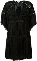 IRO v-neck batwing dress - women - Cotton/Viscose - 36