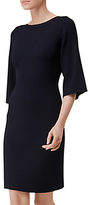 LK Bennett L.K.Bennett Tonya Rib Detail Dress, Navy