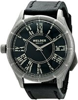 Welder Unisex 505 Analog Display Quartz Black Watch