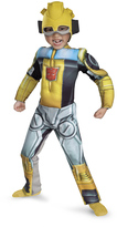 Disguise Transformers Bumblebee Rescue Bot Muscle Dress-Up Set - Kids