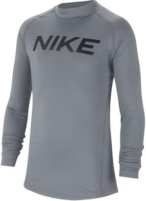Nike Kids' Pro Warm Graphic Training Top