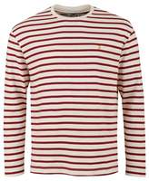 Farah Bain Striped Crew Neck T-shirt