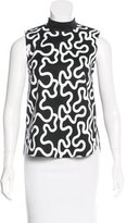J.W.Anderson Squiggle Print Sleeveless Top w/ Tags