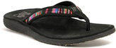 Lamo Black Island Leather Flip-Flop - Women