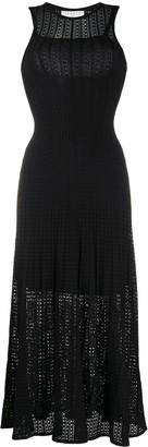 Sandro Paris Aleane flared dress