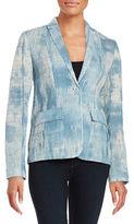 Elie Tahari Tova Textured Blazer