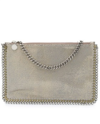 Stella McCartney Metallic Chain-Link Bag