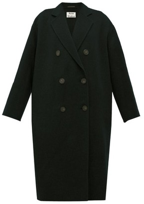Acne Studios Odethe Double-breasted Wool Coat - Womens - Black