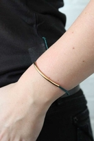 Pura Vida Gold Bar Bracelet in Teal