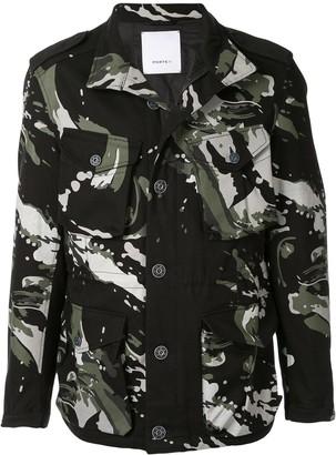 Ports V Splatter Print Jacket