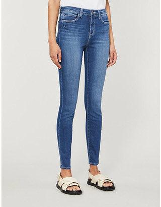 L'Agence Marguerite skinny high-rise jeans