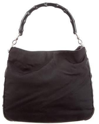 5d0e392401 Gucci Bamboo Handle Handbag - ShopStyle