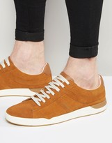 Boss Orange By Hugo Boss Perf Suede Trainers