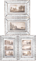 A&B Home Sepia Framed Wall Art Set