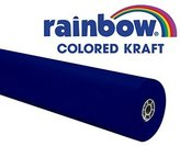 Pacon Corporation Pac66181 Rainbow Kraft Roll 100 Ft Dk Blue