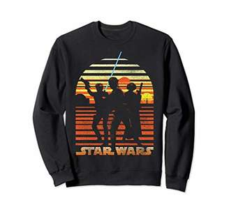 Star Wars Tatooine Silhouette Sunset Trio Sweatshirt