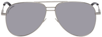 Saint Laurent Silver Classic DB 11 Sunglasses
