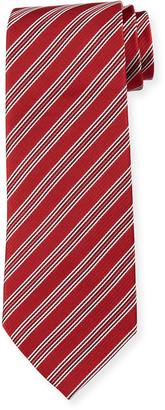 Emporio Armani Men's Striped Silk Tie