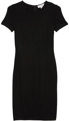 St. John Nouveau Wool Blend Sheath Dress