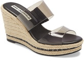 Karl Lagerfeld Paris Cecily Wedge Slide Sandal