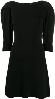 Stella McCartney Structured Shoulders Mini Dress