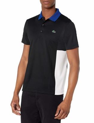 Lacoste Men's Sport Short Sleeve Ultra Dry Colorblock Polo Shirt