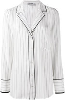 Frame striped pyjama shirt - women - Silk - M