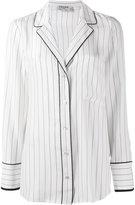 Frame striped pyjama shirt