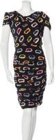 Moschino Cheap & Chic Moschino Cheap and Chic Silk Printed Dress