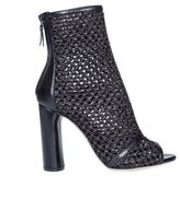 Casadei Open Tote Ankle Boots