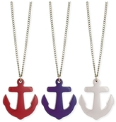 Z Designs Resin Anchor Necklace