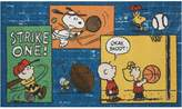 "Peanuts Strike One"" Rug"