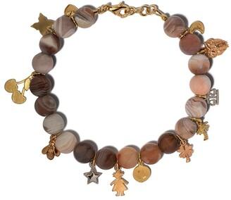 Carolina Bucci 18kt gold Lucky Charm sunstone bracelet