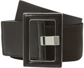 Calvin Klein 60mm Stretch Belt w/ Smooth Leather Women's Belts
