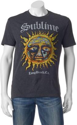 Men's Sublime Stamp Sun Logo Band Tee